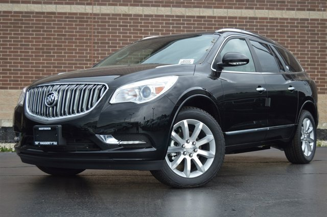 2017 Buick Enclave Premium Ebony Twilight Metallic V6 36L Automatic 5863 miles Buick began it