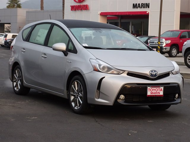 2017 Toyota Prius v Five Classic SilverBlack V4 18 L Variable 127 miles Our best prices insta