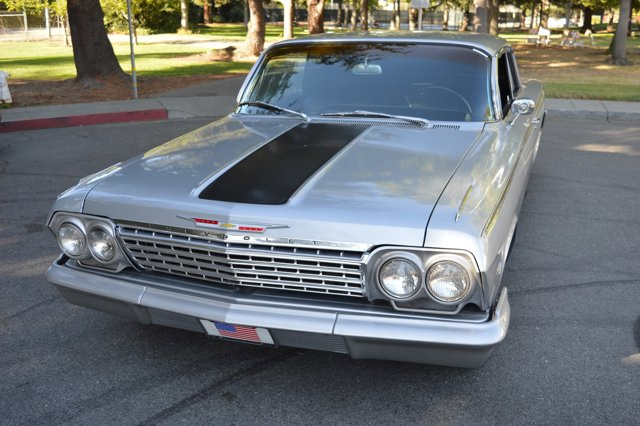 1962 Chevrolet Impala Silver Black V   0 miles Here we have an awesome looking 1962 Chevrolet