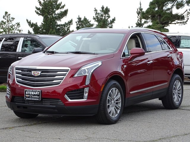 2017 Cadillac XT5 Luxury Red Passion TintcoatCirrus V6 36L Automatic 0 miles  ENGINE 36L V6