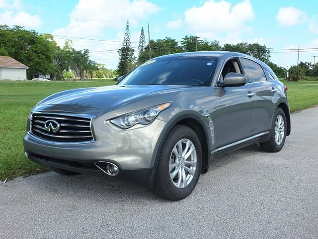 2013 INFINITI FX37 Gray V6 37L Automatic 103560 miles Delivers 24 Highway MPG and 17 City MPG