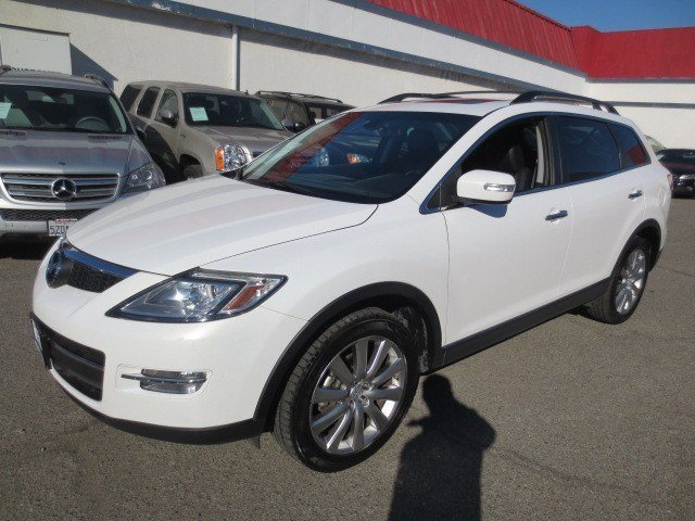2008 Mazda CX-9 Grand Touring Crystal White PearlBlack V6 37L Automatic 96410 miles NEW ARRIVA