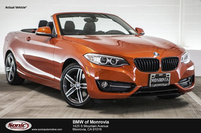 2017 BMW 2 Series 230i xDrive Valencia Orange MetallicBlack V4 20 L Automatic 0 miles Check o