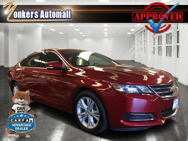 2015 Chevrolet Impala LT Red Rock MetallicJet BlackDark Titanium V4 25L Automatic 37539 miles
