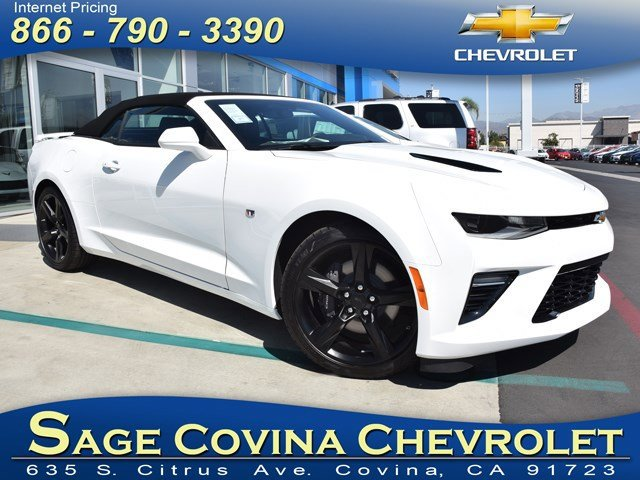 2016 Chevrolet Camaro SS Summit WhiteJet Black V8 62L Automatic 5 miles The redesigned sixth