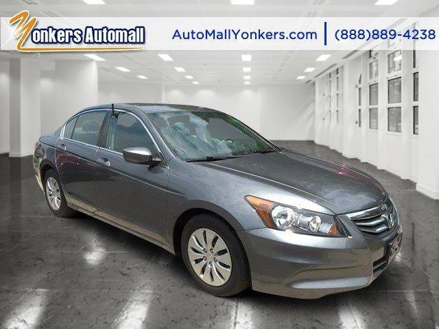 2012 Honda Accord Sdn LX Polished Metal MetallicBlack V4 24L Automatic 38664 miles Yonkers Au