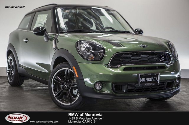 2016 MINI Cooper Paceman S Jungle Green MetallicCarbon Black V4 16 L Automatic 0 miles  Turbo