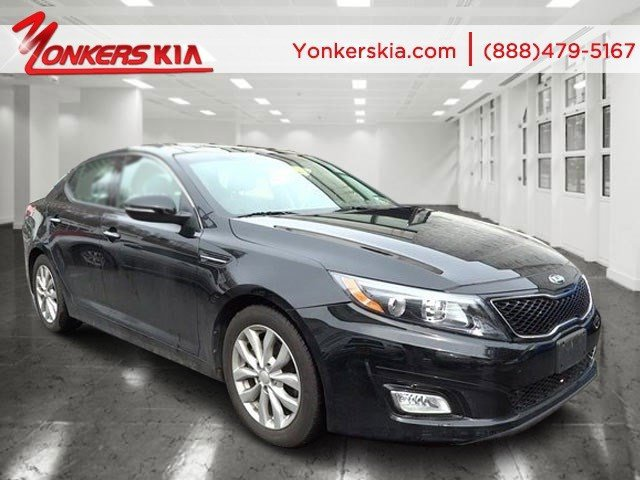 2014 Kia Optima EX Ebony BlackGray V4 24 L Automatic 7220 miles 1 owner clean carfax 2014