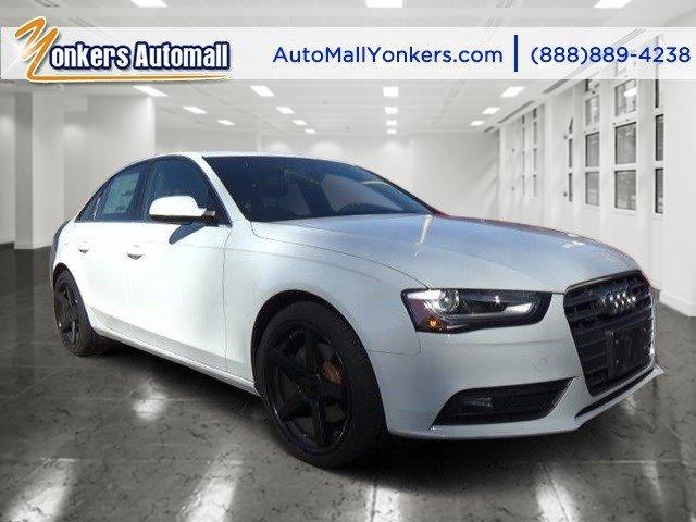 2013 Audi A4 Premium Plus Ibis WhiteChestnut Brown V4 20L Automatic 26903 miles Navigation