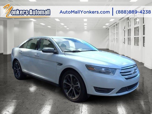 2015 Ford Taurus Limited White Platinum Metallic Tri-CoatDune V6 35 L Automatic 32076 miles G