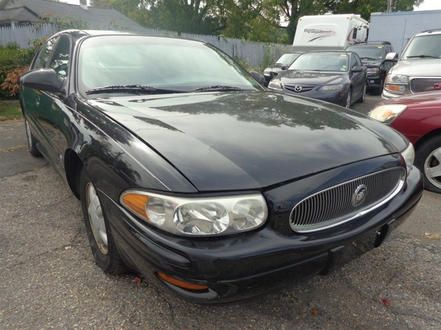 2000 Buick LeSabre Custom BlackMedium Gray V6 38L Automatic 68781 miles  Front Wheel Drive  T