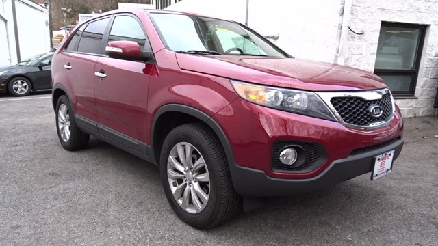 2011 Kia Sorento EX Spicy RedBeige V6 35L Automatic 55474 miles   VARIOUS ADDITIONAL PORT IN