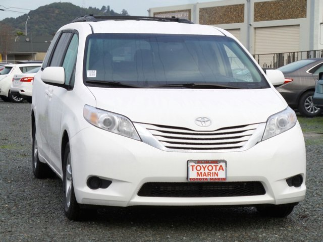 2017 Toyota Sienna LE Super WhiteBisque V6 35 L Automatic 5 miles Our best prices instantly