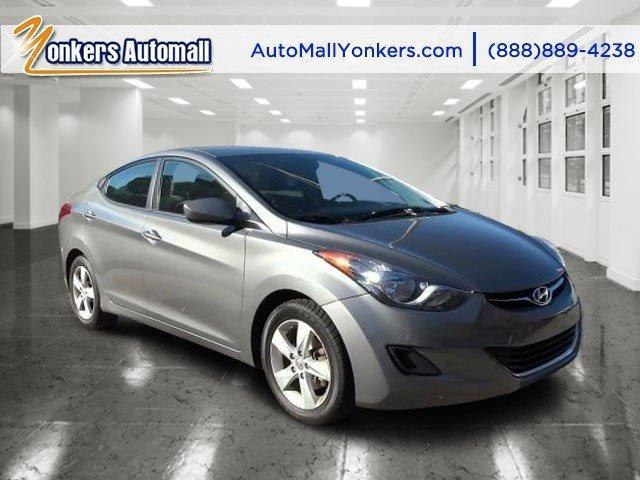 2013 Hyundai Elantra GLS Harbor Gray MetallicGray V4 18L Automatic 45047 miles Yonkers Auto M