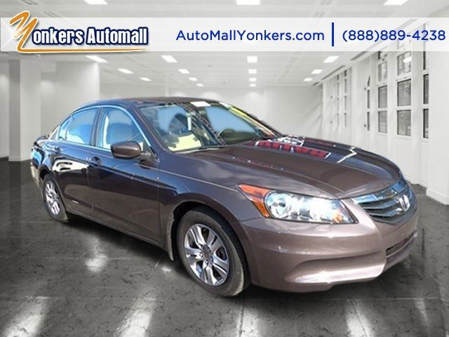 2012 Honda Accord Sdn LX Premium MaroonTan V4 24L Automatic 38737 miles 1 owner clean carfax