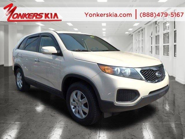 2011 Kia Sorento LX White Sand BeigeBeige V4 24L Automatic 45993 miles Yonkers Kia is the lar