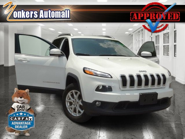2014 Jeep Cherokee Latitude Bright White ClearcoatBlack V6 32 L Automatic 41348 miles Look at