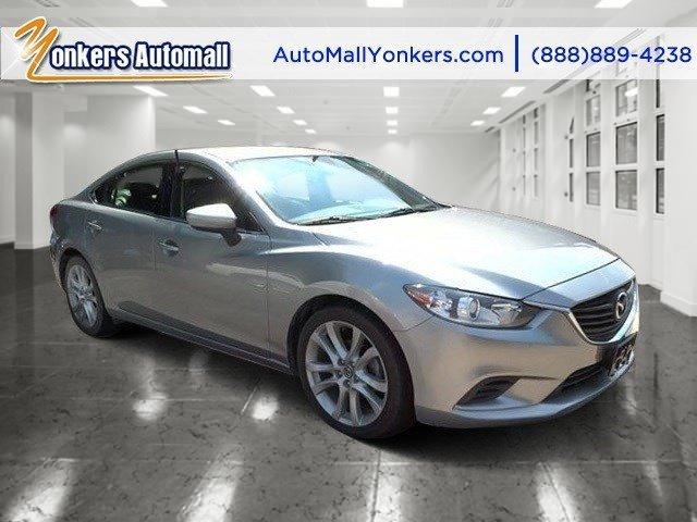 2014 Mazda Mazda6 i Touring Liquid Silver MetallicBlack V4 25 L Automatic 21629 miles Yonkers