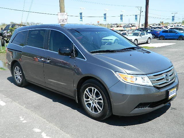 2012 Honda Odyssey EX-L SILVERGray V6 35L Automatic 13069 miles CARFAX ONE OWNER SUNROOF  MO