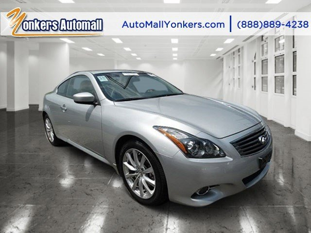 2013 Infiniti G37 Coupe x Liquid PlatinumGraphite V6 37L Automatic 36590 miles 1 owner clean