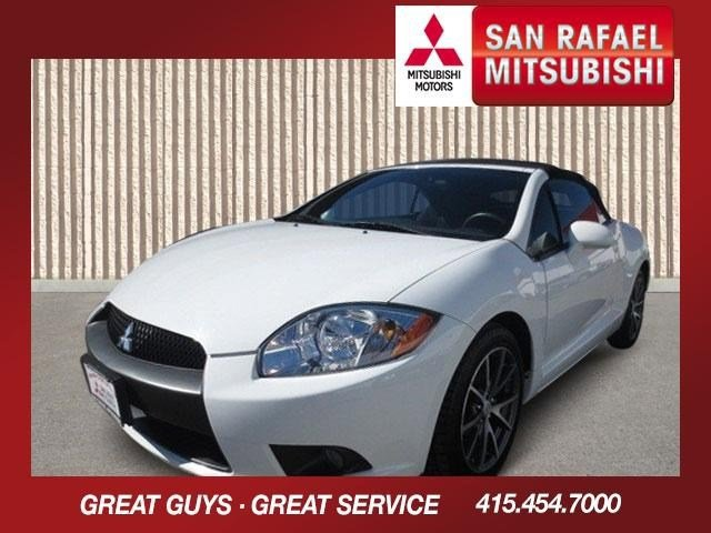 2012 Mitsubishi Eclipse GS Sport Convertible Northstar WhiteDark Charcoal V4 24L Automatic 3507