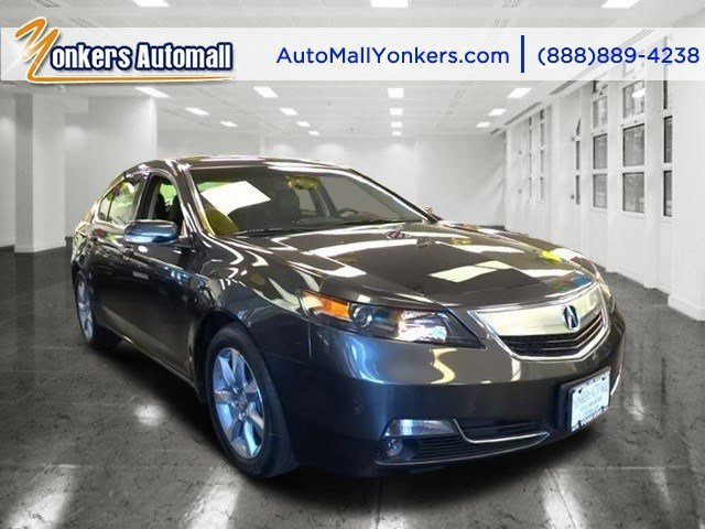 2013 Acura TL Tech Graphite Luster MetallicEbony V6 35L Automatic 41199 miles Tech package wi