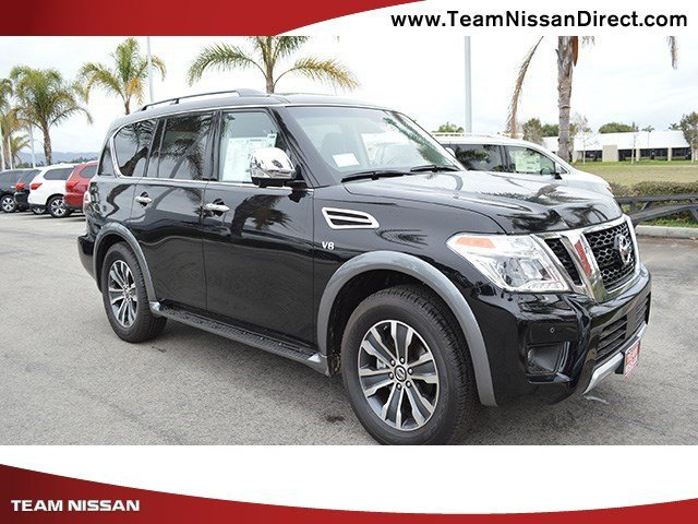 2017 Nissan Armada SL SuperCharcoal V8 56 L Automatic 0 miles  All Wheel Drive  Tow Hitch