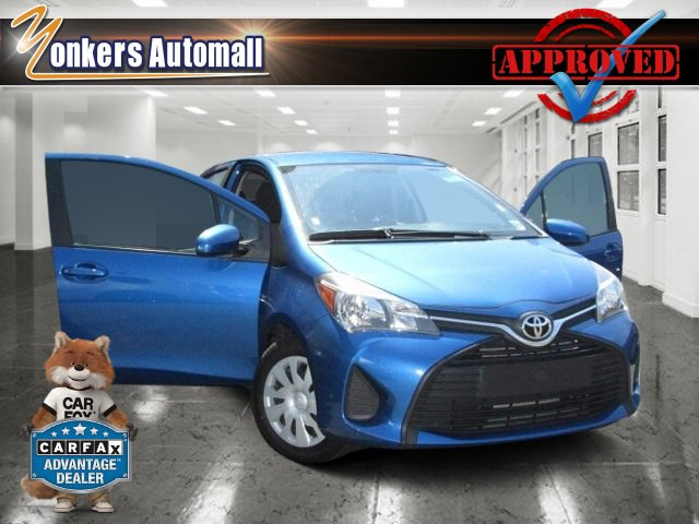 2015 Toyota Yaris L Blue Streak MetallicBlack V4 15 L Automatic 39202 miles Check out this 20