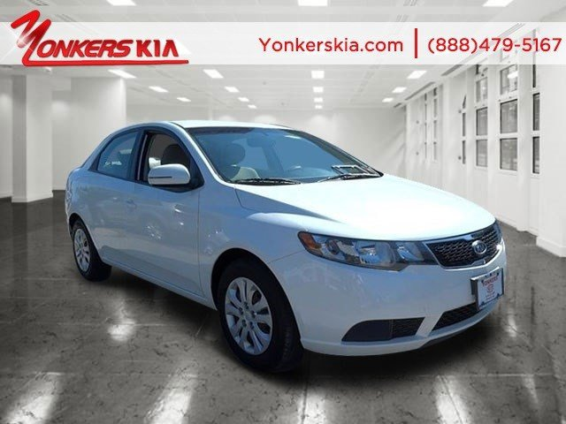 2011 Kia Forte EX Snow White PearlStone V4 20L Automatic 14522 miles Yonkers Kia is the large