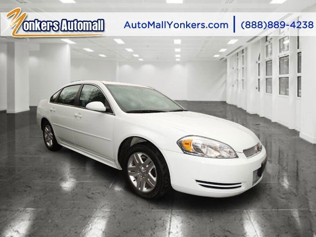 2013 Chevrolet Impala LT Summit WhiteGray V6 36L Automatic 21631 miles Yonkers Auto Mall is t