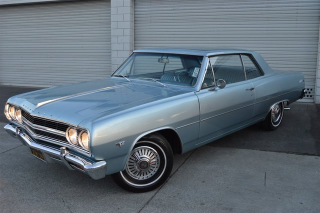 1965 Chevrolet Chevelle Malibu BlueBlue V8  Automatic 0 miles Thanks for looking--American