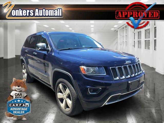 2014 Jeep Grand Cherokee Limited True Blue PearlcoatTan V6 36 L Automatic 36005 miles Bold an