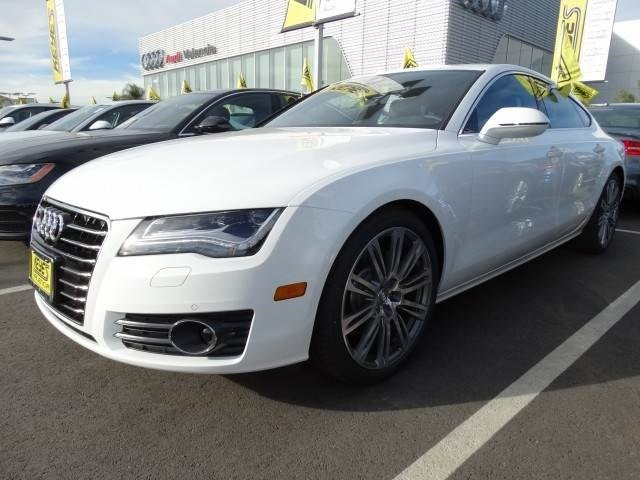2015 Audi A7 30 TDI Premium Plus Ibis WhiteBlack Leather V6 30 L Automatic 10 miles  Turboch