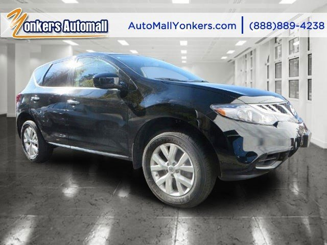 2013 Nissan Murano S Super BlackBeige V6 35L Variable 36939 miles Delivering power style and