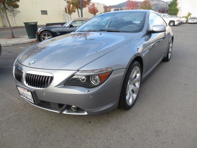 2004 BMW 6 Series 645Ci Silver Gray MetallicBlack V8 44L Automatic 78795 miles LOW MILES DESI