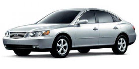 2007 Hyundai Azera GLS Ebony Black V6 33L Automatic 78675 miles  Traction Control  Front Whe