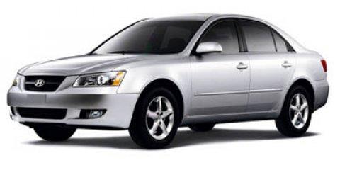 2007 Hyundai Sonata SE Blue V6 33L Automatic 163951 miles 33L V6 DOHC 24V and Cloth Wow Wh