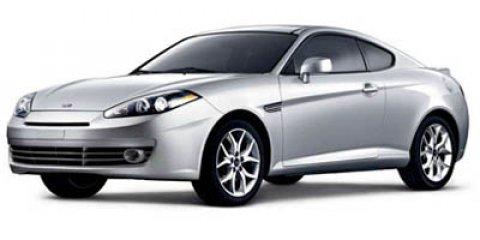 2007 Hyundai Tiburon L Carbon GrayBlack V6 27L Automatic 111330 miles -CARFAX ONE OWNER- NEW