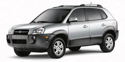2007 Hyundai Tucson SE Obsidian BlackGray V6 27L Automatic 91924 miles With the many models a