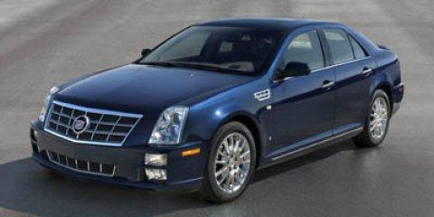 2008 Cadillac STS V8 White Diamond TricoatLight Gray V8 46L Automatic 104412 miles INFINITI o
