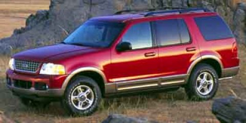 2002 Ford Explorer XLT Orange V8 46L Automatic 145281 miles  Four Wheel Drive  Tow Hitch  Ti