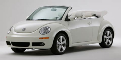 2007 Volkswagen New Beetle Convertible Triple White WhiteWhite V5 25L Automatic 76638 miles C