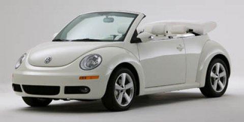 2007 Volkswagen New Beetle Convertible Triple White Campanella White V5 25L Automatic 45851 mi