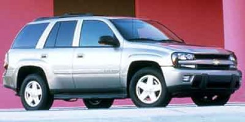 2002 Chevrolet TrailBlazer LTZ Indigo Blue Metallic V6 42L Automatic 125000 miles  Rear Wheel
