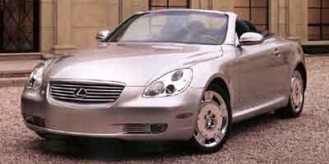 2002 Lexus SC 430  V8 43L Automatic 163521 miles  Traction Control  Rear Wheel Drive  Tires