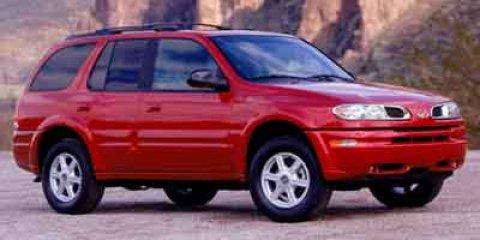 2002 Oldsmobile Bravada BLACK V6 42L Automatic 63550 miles New Arrival All Wheel Drive C