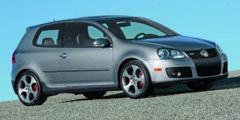 2008 Volkswagen GTI WHITE V4 20L Manual 108439 miles -New Arrival- Satellite Radio Turbochar
