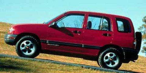 2000 Chevrolet Tracker 4DR 4WD HARDTOP BlackMedium Gray V4 20L  120990 miles Land a steal on