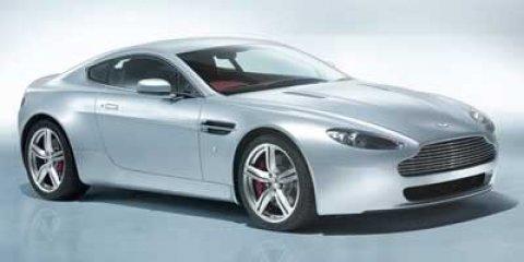 2011 Aston Martin V8 Vantage Jet Black V8 47L Automatic 6434 miles  LockingLimited Slip Diff