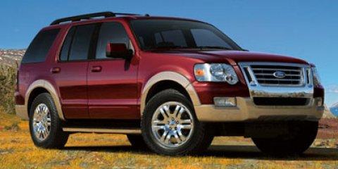 2009 Ford Explorer XLT Brilliant Silver Clearcoat MetallicBlack V6 40L Automatic 109740 miles